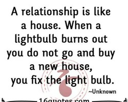 A relationship is like 