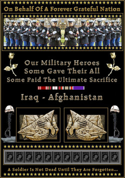 On Behalf Of A Forever Grateful Nation 