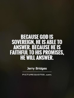 BECAUSE GOD IS 