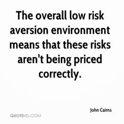 The overall low risk 