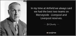 In my time at Anfield we always said 