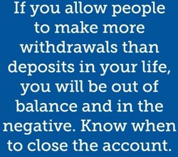 If you allow people 