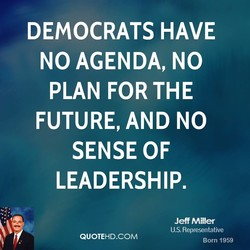DEMOCRATS HAVE 