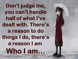 Don't judge me, 
