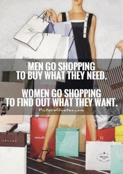 MEN GO SHOPPING 