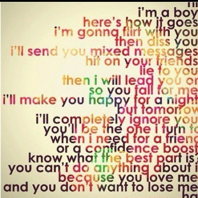Quotes about Boys Suck (27 quotes)