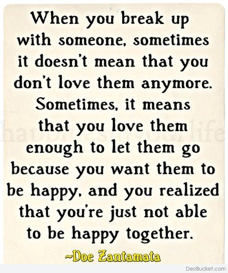 Quotes about Boyfriend breaking up (31 quotes)