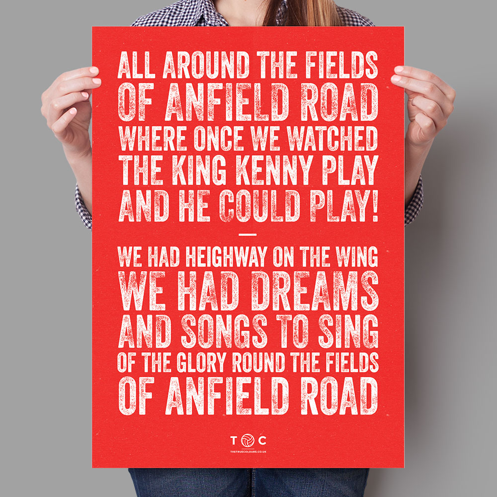 Quotes: Quotes About Anfield (27 Quotes