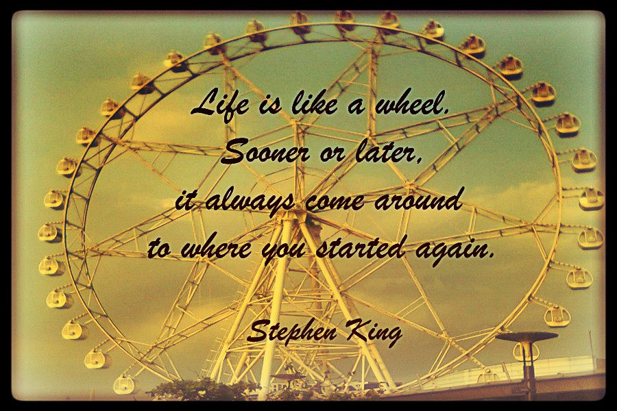 Quotes About Wheel Of Life 54 Quotes