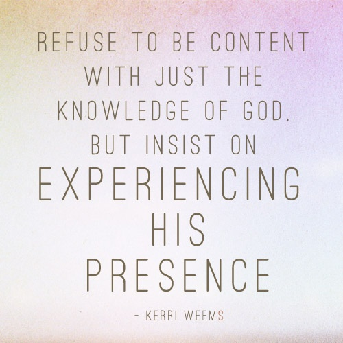 quotes about god s presence quotes