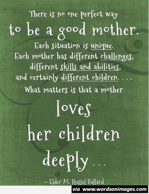 Quotes about Role of a mother (55 quotes)