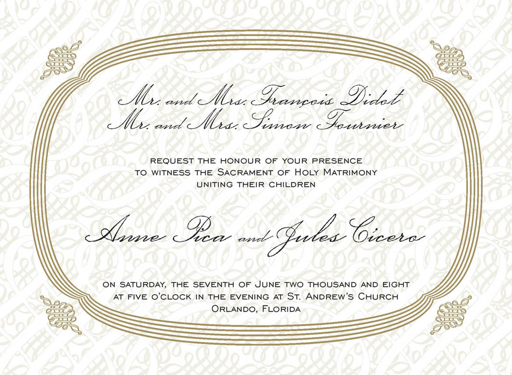 Quotes About Wedding Invitations 23 Quotes