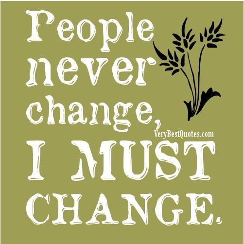 Quotes about Changed Attitudes 51 quotes