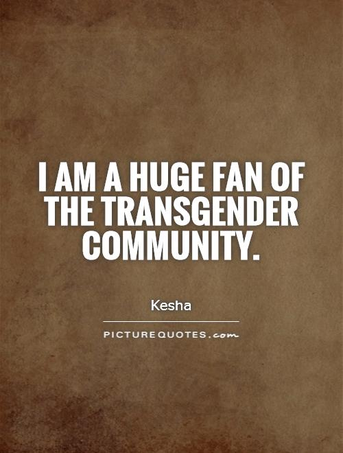 Transgender people really are misunderstood