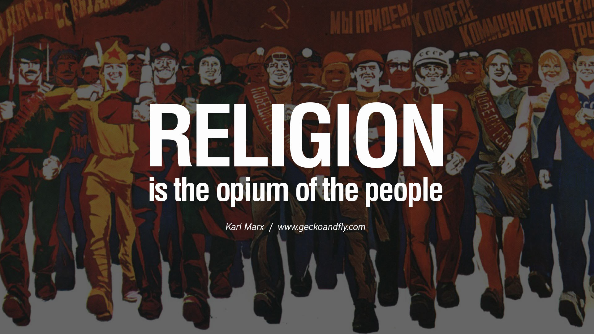 religion is an opium essay
