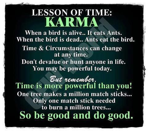 Quotes About Good And Bad Karma 50 Quotes