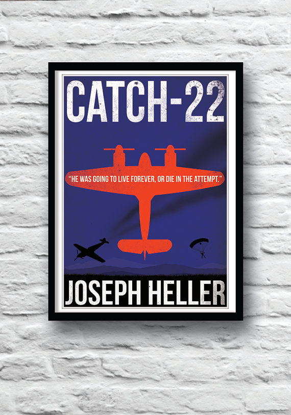 an analysis of war in joseph hellers catch 22 Fifty years after its original publication, catch-22 remains a cornerstone of american literature and one of the funniest—and most celebrated—books of all time.