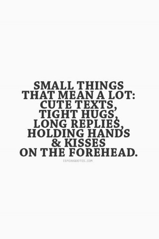 Quotes about Little things matter most (16 quotes)