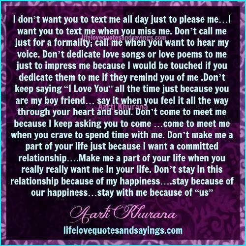 Quotes About Do You Want Me 170 Quotes