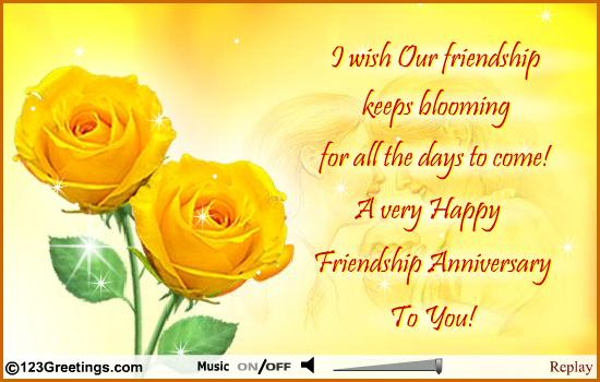 1 year friendship anniversary quotes