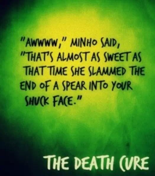 The Death Cure Quotes Quotesgram: Quotes About Maze (104 Quotes