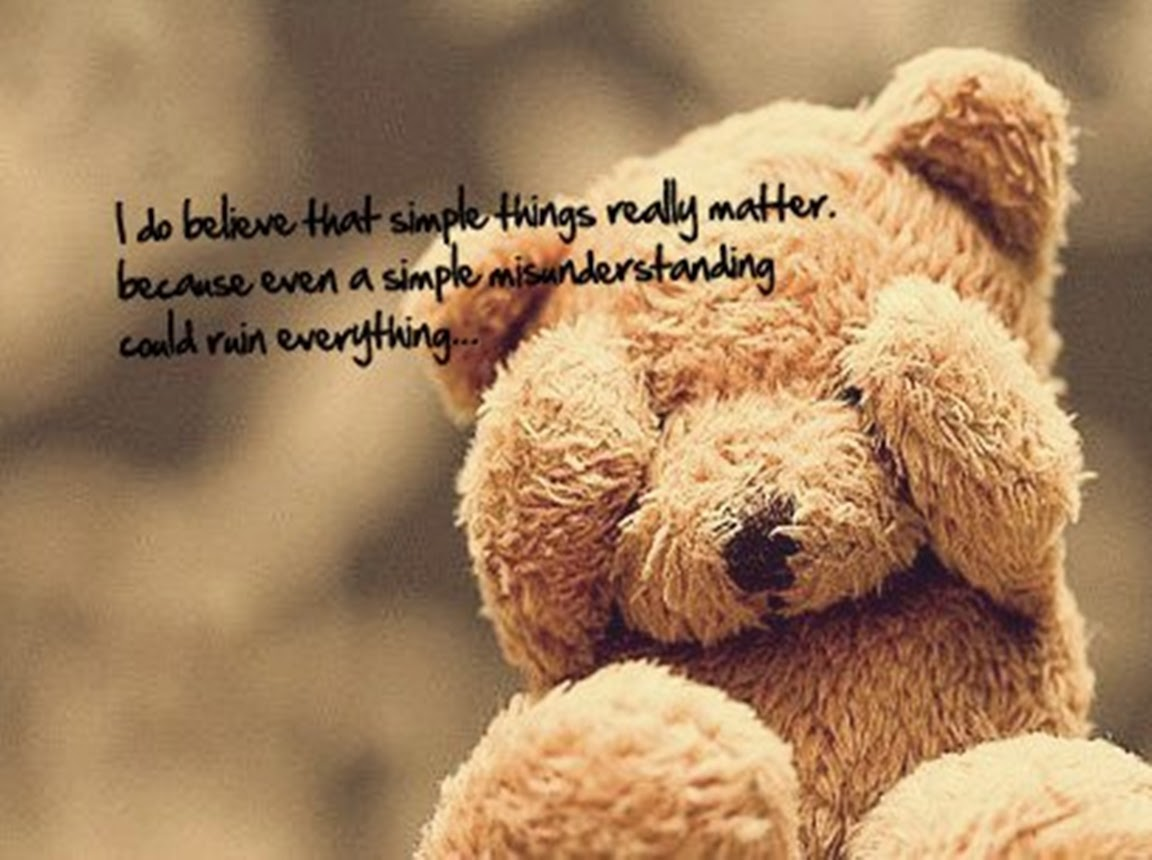 Quotes about Having a teddy bear (17 quotes)