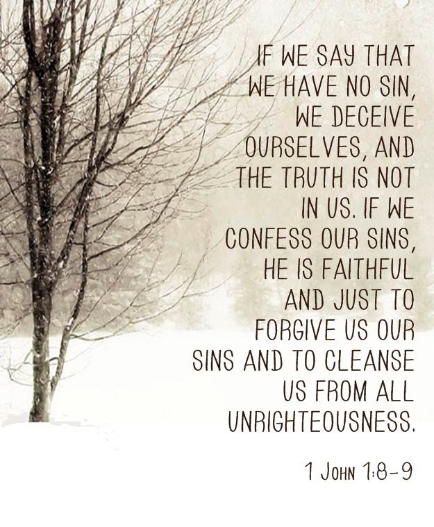 Quotes about Confessing Sin (40 quotes)
