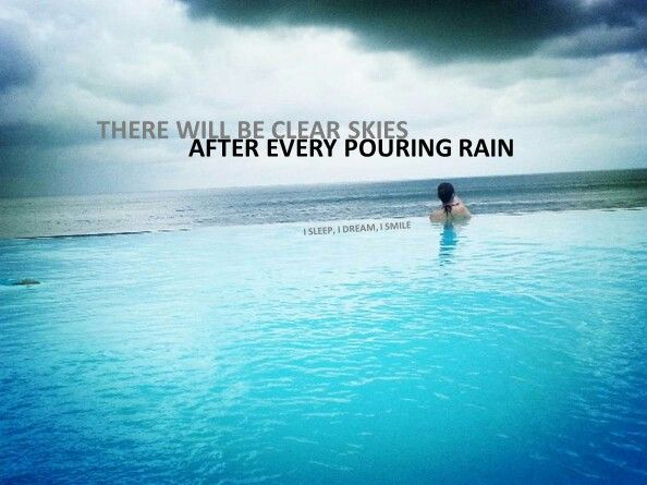 quotes about clear blue sky quotes