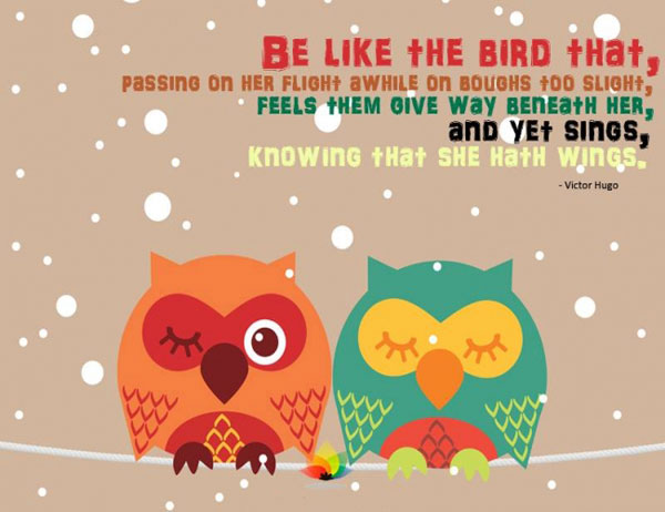 Quotes about All kinds of birds (37 quotes)