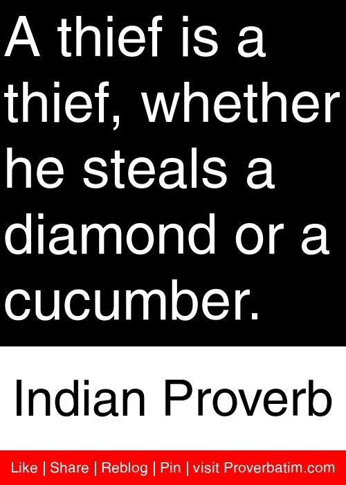 Quotes About Stealing Money 49 Quotes