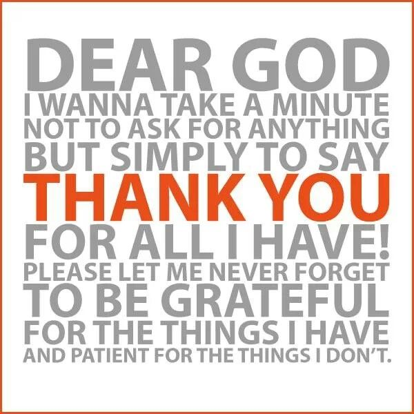 Quotes about Thank You God (134 quotes)