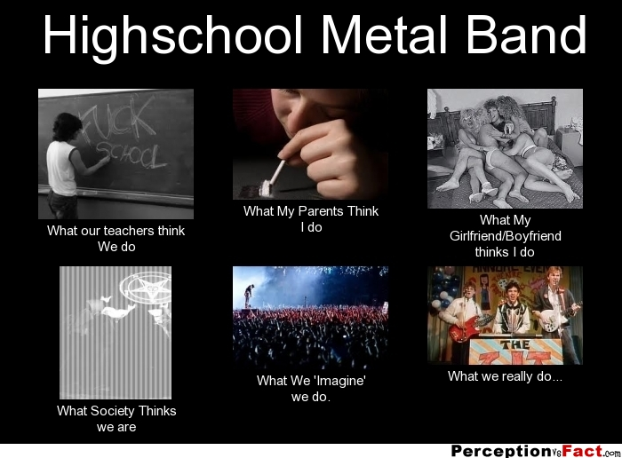 Quotes about Metal Band (40 quotes)