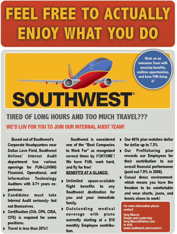 "leadership in southwest airlines essay About gary kelly according to the man himself, leadership is""effectively supporting your team of employees"" (gary kelly) gary kelly serves as the chairman, president and chief executive at southwest airlines a 22-year southwest veteran who became chief financial officer in 1989, mr kelly has worked closely with southwest's co-founder and chairman emeritus herb kelleher and."