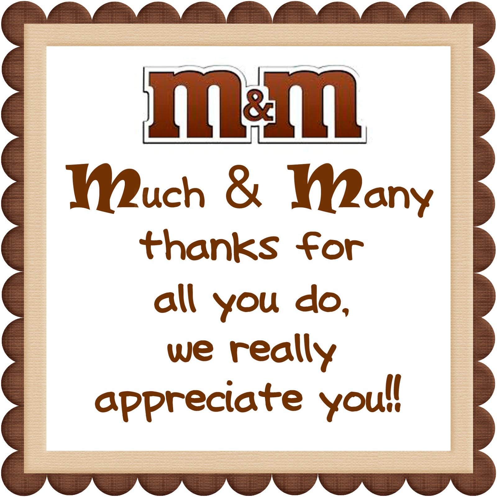 Quotes about appreciating mom 33 quotes al you do we really appreciate you sciox Gallery