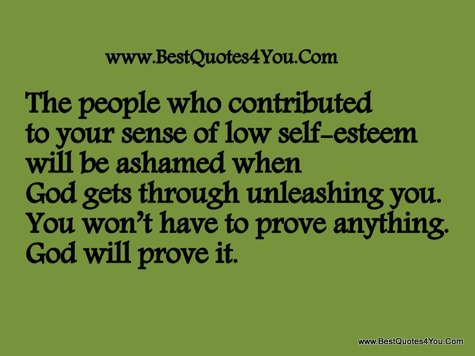 Quotes About Low Self Worth 23 Quotes
