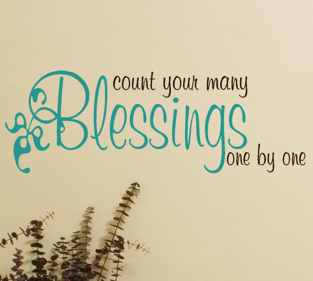 Quotes about Blessings (551 quotes)