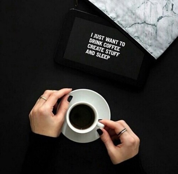 quotes about drinking coffee black quotes