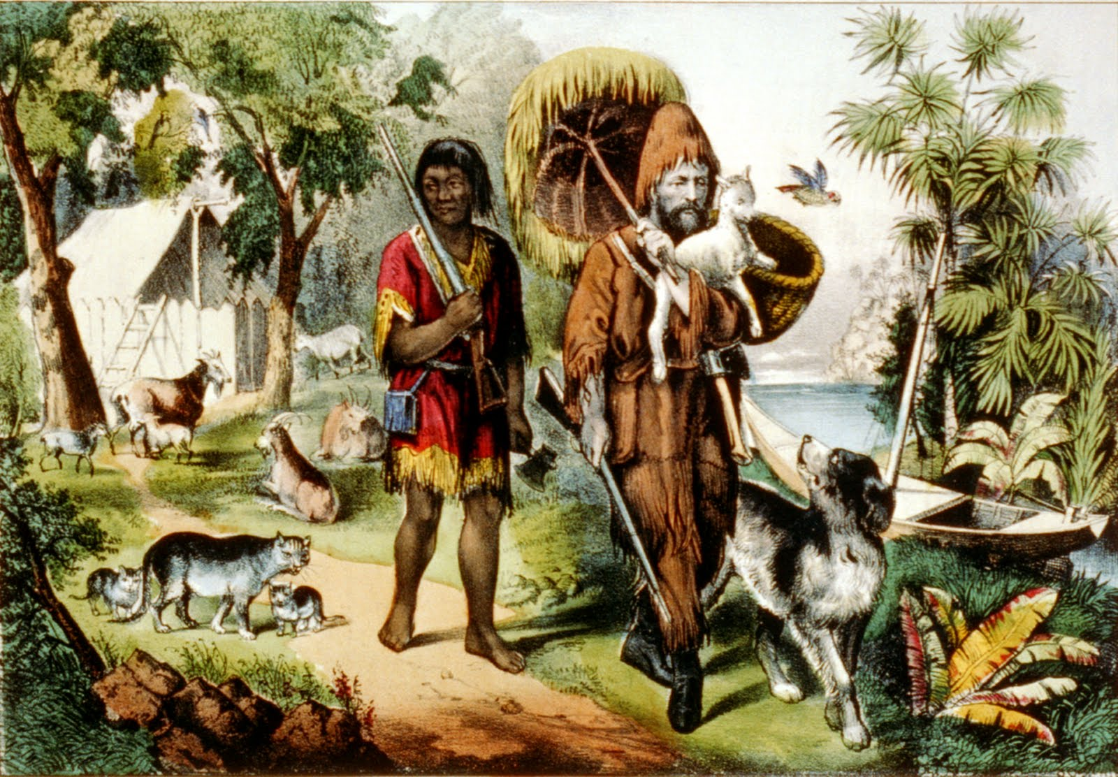 robinson crusoe the lost years Free summary and analysis of escape from the island in daniel defoe's robinson crusoe lost all at once around this time, crusoe years on the island, crusoe.