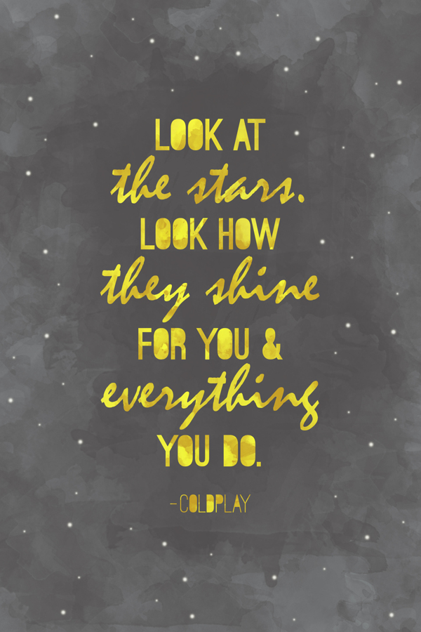 Looking At The Stars Quotes