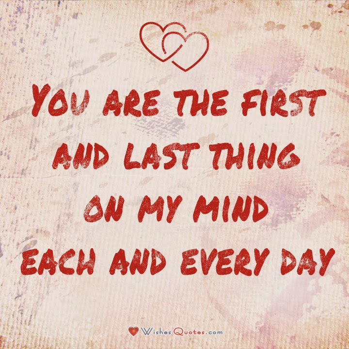 Quotes love for i her sweet you Sweet Romantic