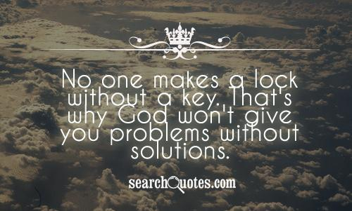 Quotes About Problem Faith 50 Quotes