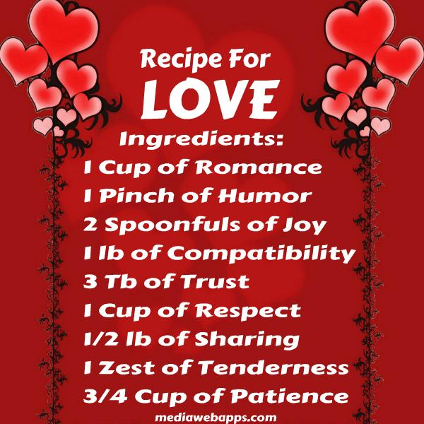Quotes about Love recipe (53 quotes)