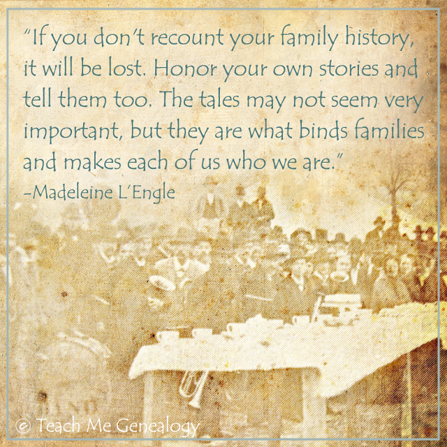 quotes about your family history quotes