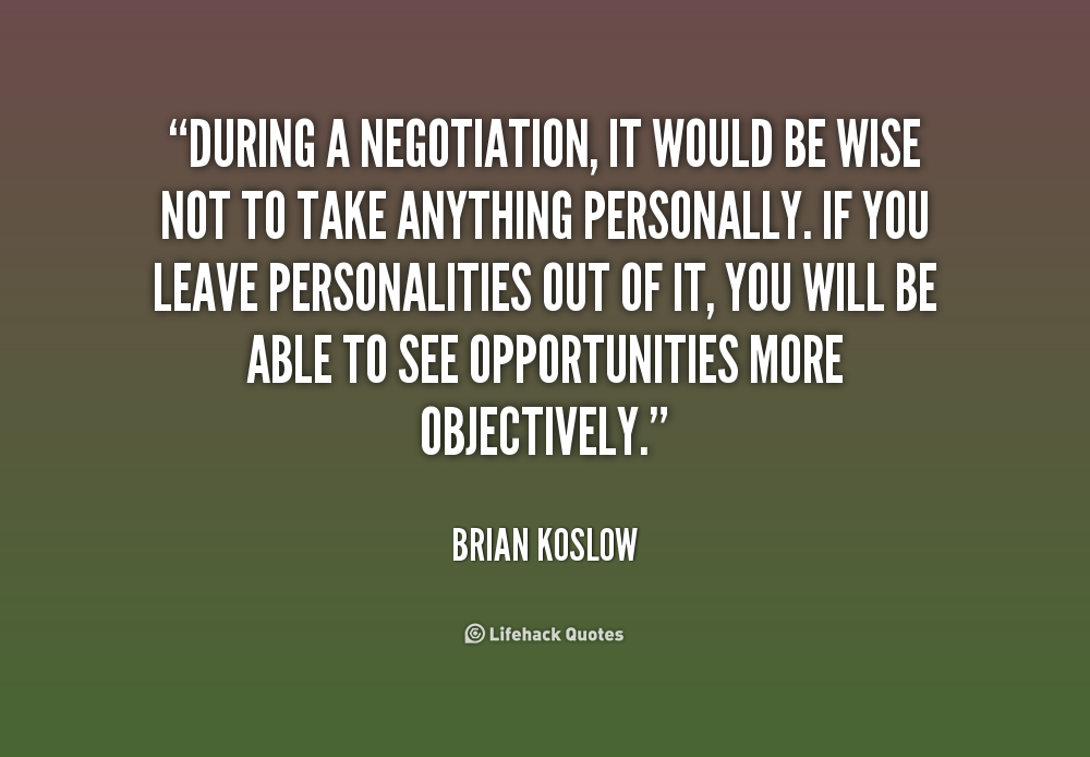 Quotes about Negotiation love (12 quotes)