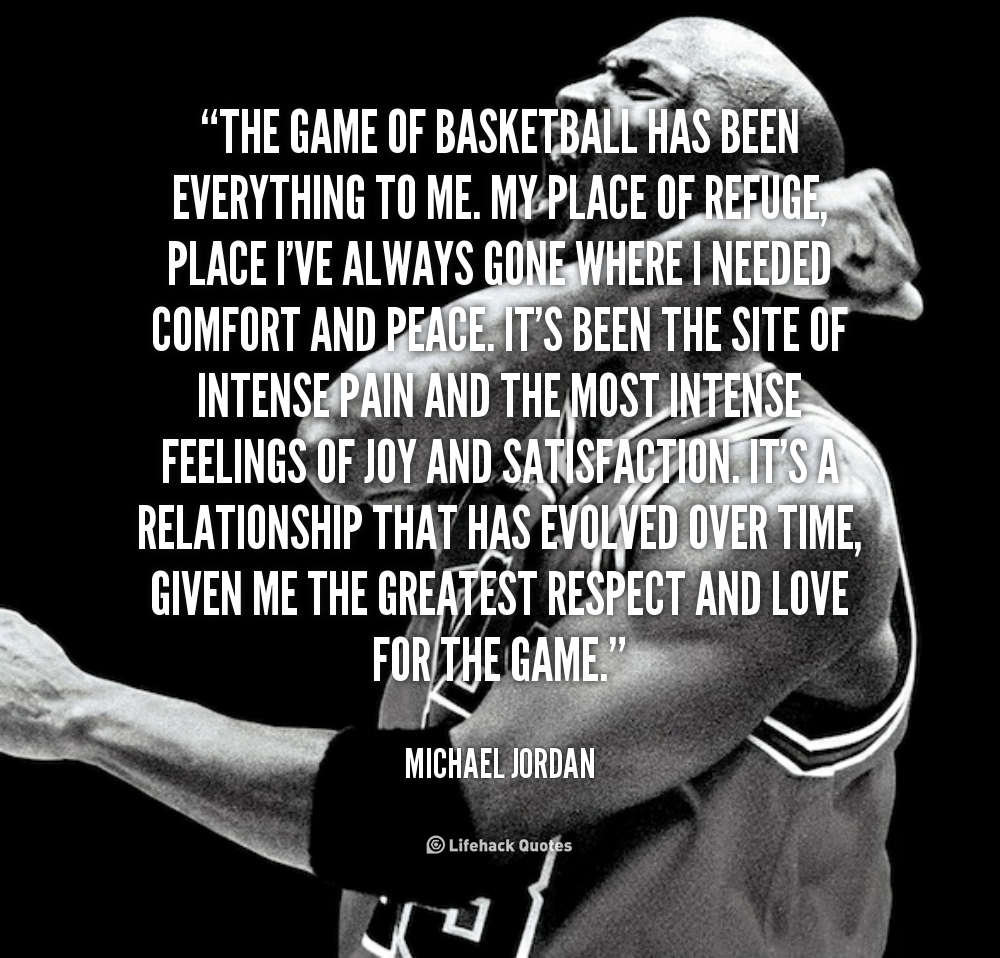 Quotes About The Love Of The Game 226 Quotes