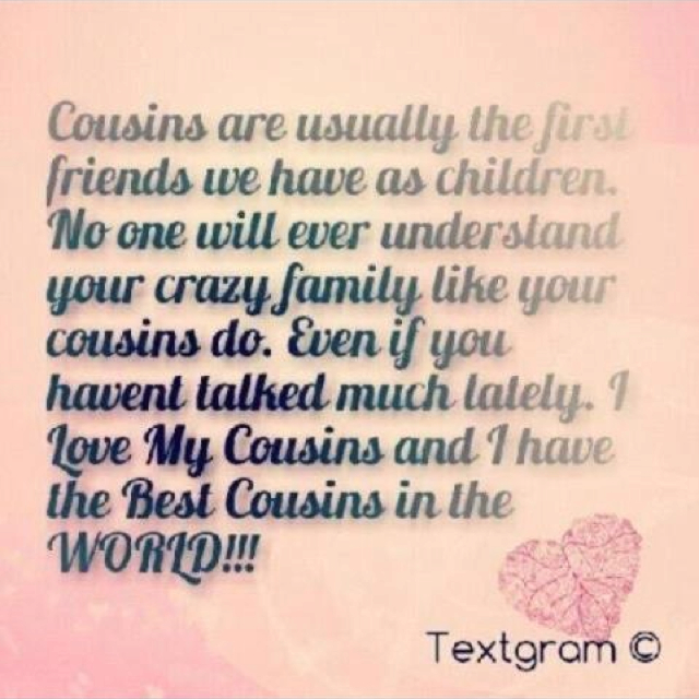 Quotes About Cousin Brother