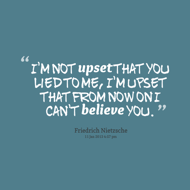 Quotes about About lying (110 quotes)