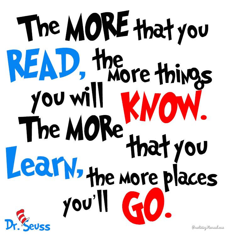 Quotes About Reading Dr Seuss 20 Quotes