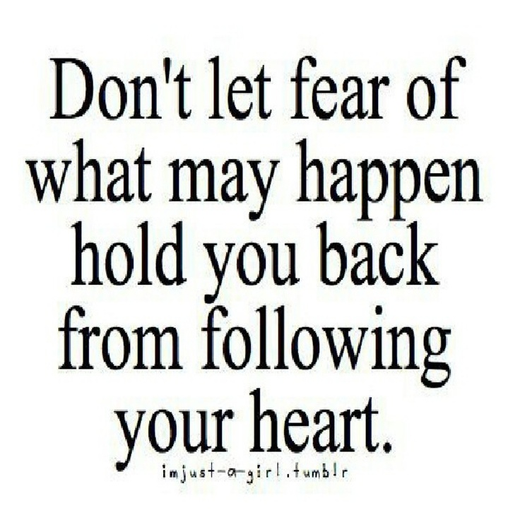 Quotes About Follow Heart 212 Quotes