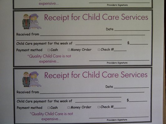 receipt for child care services quotes about receipts 78 quotes